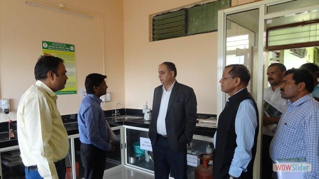 Visit of Hon'ble Dr. A. K. Singh, DDG (Agril. Extn.), ICAR, New Delhi and Hon'ble Dr. Lakhan Singh, Director, ICAR- ATARI, Pune on 19.01.2018