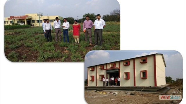 Visit of Dr. Vinay Kumar, Senior Technical Assistant, Directorate of Cotton Development, GOI, Nagpur on 14 December, 2017